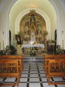 Acto del Triduo Solemne a Santa Ángela de la Cruz