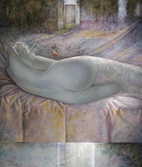 Obra de Juan Francisco Cárceles titulada La casa de los sueños