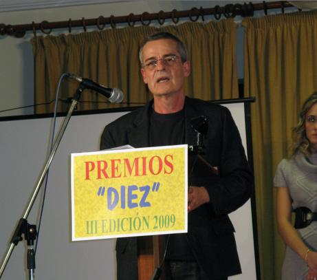 Juan Francisco Cárceles Premios DIEZ