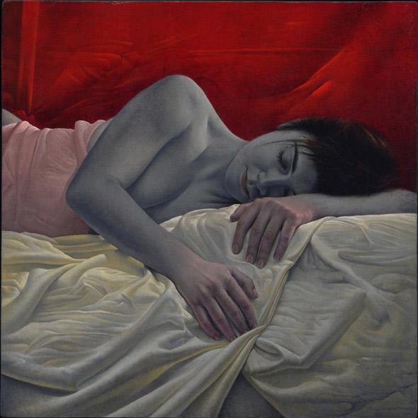 Obra de Juan Francisco Cárceles titulada Casi despierta