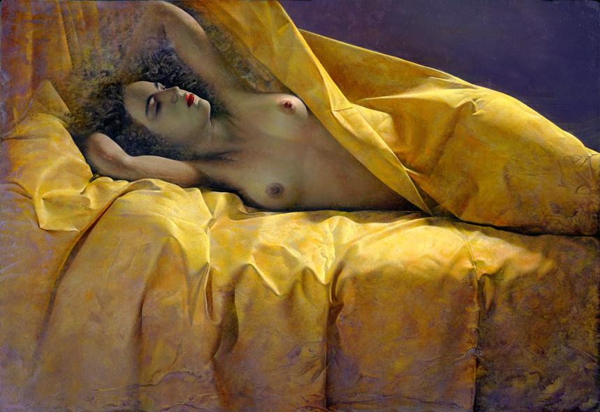 Obra de Juan Francisco Cárceles titulada La luz primera