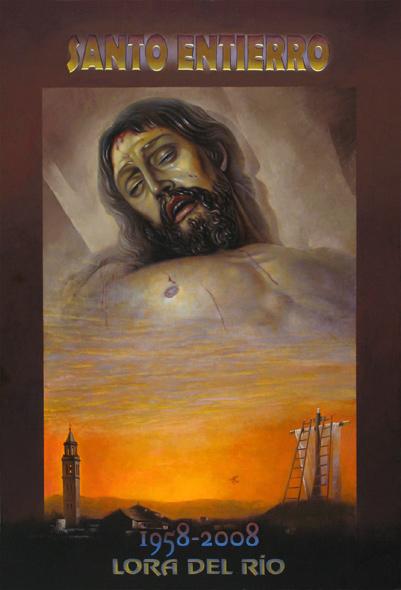 Obra de Juan Francisco Cárceles para la Semana Santa 2008 Lora del Río