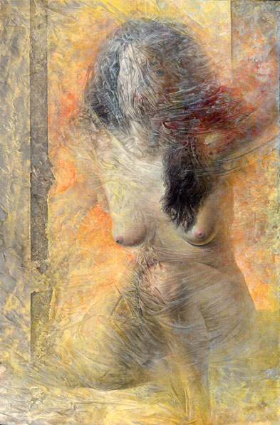 Obra de Juan Francisco Cárceles titulada Como un nuevo amanecer