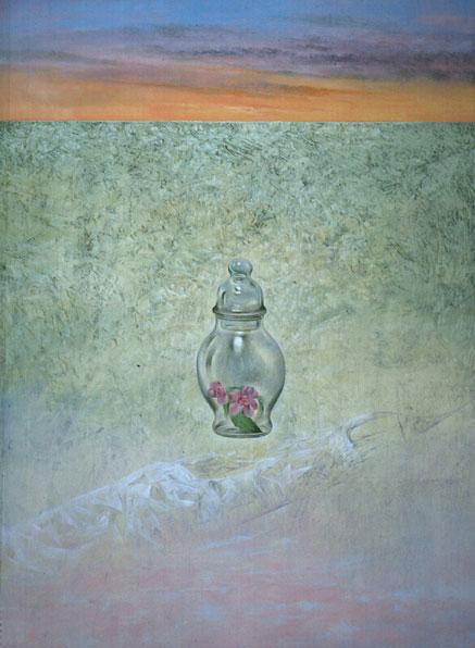 Obra de Juan Francisco Cárceles titulada El cristal silencioso