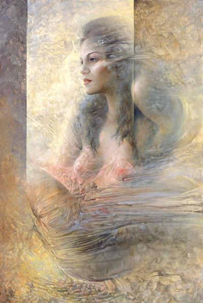 Obra de Juan Francisco Cárceles titulada El despertar del viento