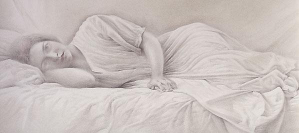 Obra de Juan Francisco Cárceles titulada El sueño blanco