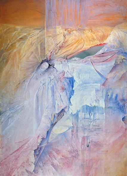 Obra de Juan Francisco Cárceles titulada Espacio ausente