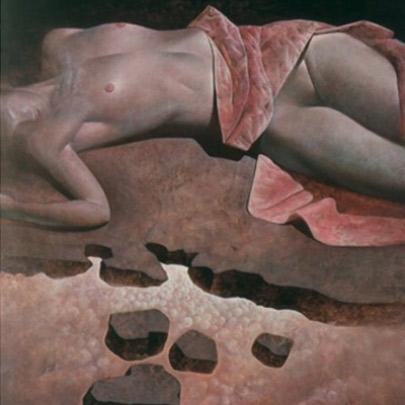El mundo de María | Óleo sobre madera | 51 x 34 cm | 1983