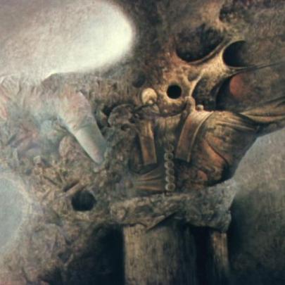 El árbol que soñó volar | Óleo sobre madera | 122 x 180 cm | 1979