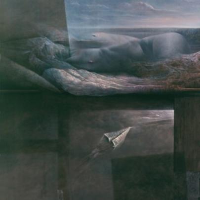 Hacia el alba desalada | Óleo sobre madera | 146 x 114 cm | 1982 – 1986